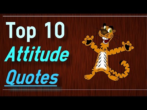 Positive Attitude Quotes - Top 10 Attitude Quotes By Brain Quotes