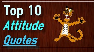 Positive Attitude Quotes - Top 10 Attitude Quotes by Brain Quotes