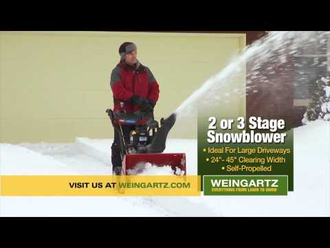 Choose The Right Snow Blower