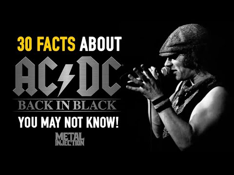 30 Facts About AC/DC's Back In Black You May Not Know | Metal Injection