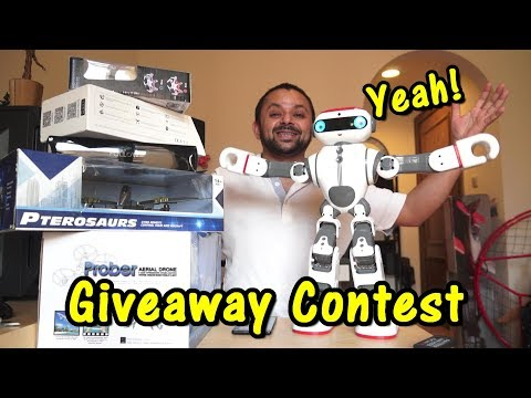 I am giving away 5 RC Drones