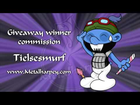 Monthly giveaway speedpaint for Tielsesmurf
