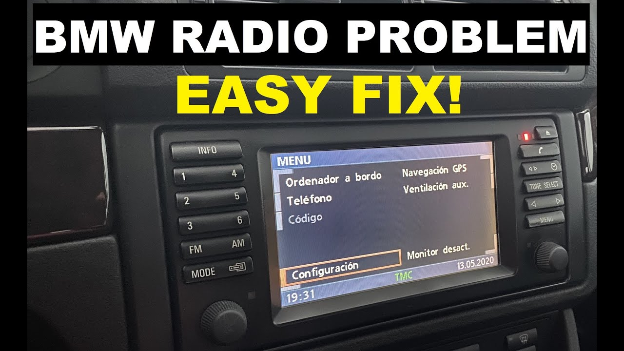 BMW Radio Repair