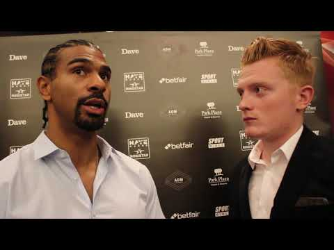 'JOSHUA IS NOT ON MY RADAR!'DAVID HAYE ON JOSHUA,JOYCE-LEWISON,VENOM PAGE,RETURN TO THE RING