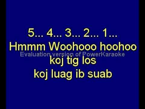 Sounders  Tsis Muaj Koj Karaoke Lyrics/Vocals