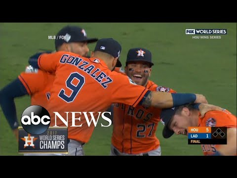 Houston Astros claim first World Series title