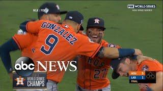 Houston Astros claim first World Series title