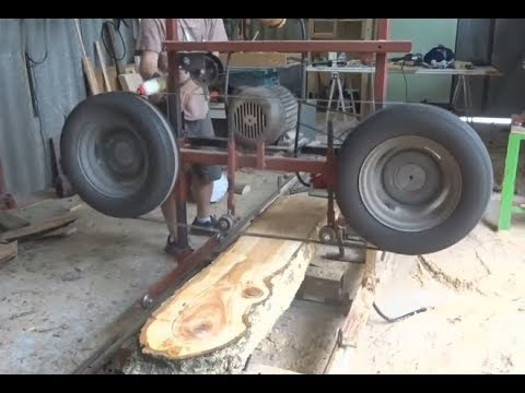 2018 The Most Amazing Homemade Wood Sawmill Machines