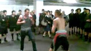 one on one carpark fight part-2 G