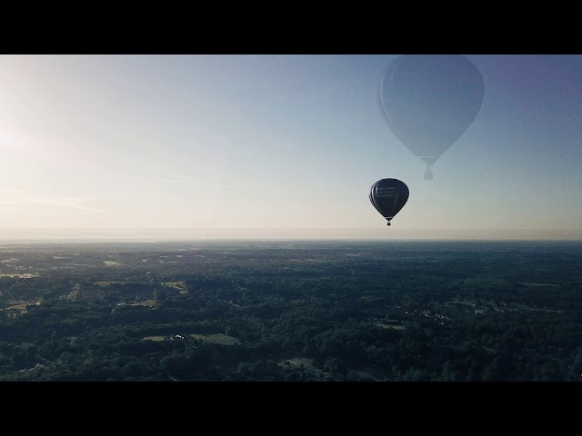 Susan Wooten Retirement - Balloon Ride Across Anderson - One Minute Version