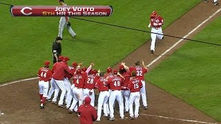 Votto jacks a walk-off grand slam