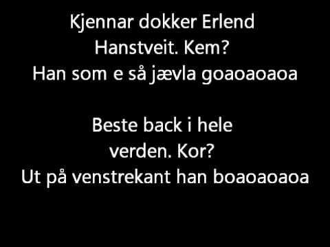 Supporterrop for SK Brann: Erlend Hanstveit