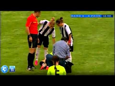 Karditsa - PAOK 2-1, 1st half