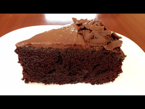 CHOCOLATE CAKE Without Oven (BEST RECIPE)!
