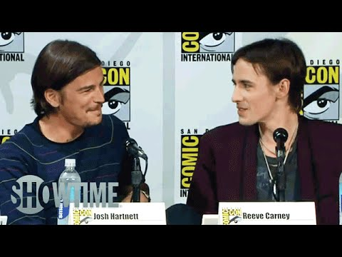 Comic-Con 2014 | Penny Dreadful Panel | Ethan And Dorian's Love Scene