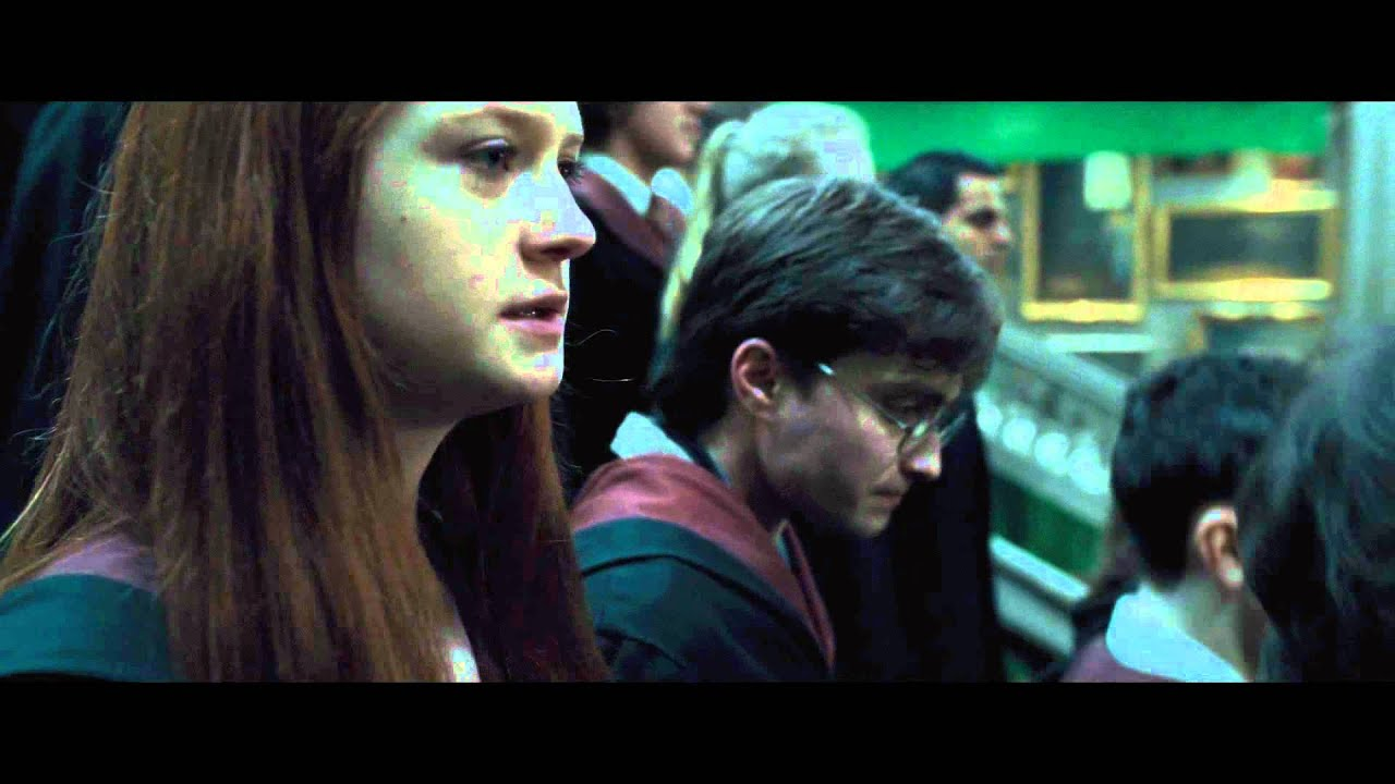 Harry Potter stars Emma Watson and Daniel Radcliffe in