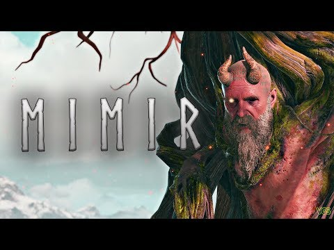 God of War - Meeting Mimir....and Cutting Off His Head