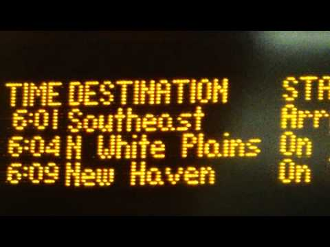 NIGHT RIDE: MNRR Harlem Line Express from Grand Central to White Plains