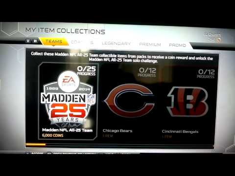 MUT 25 :-: Episode 1 :-: George Blanda collection DONE