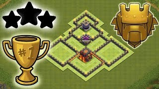 Town Hall 10 (th10) Trophy Base 2018 Tested In Champion Best Coc Hybrid Base Clash Of CLans