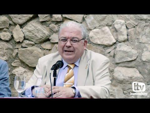 """VÍDEO: Vídeo completo de la presentación del libro de Antonio Rivas """"Calle Huertas y Pabellones"""" en el Castillo de Lucena"""