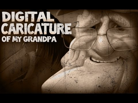 Grandpa - Digital Caricature