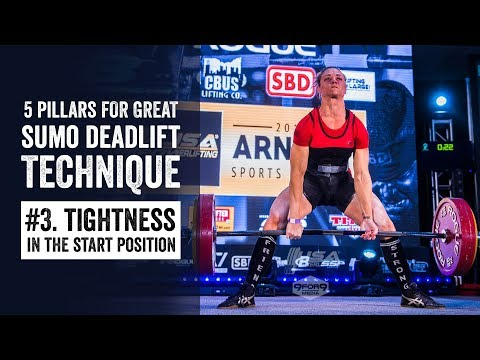 Sumo Pillar #3 | Tightness in the Start Position | JTSstrength.com