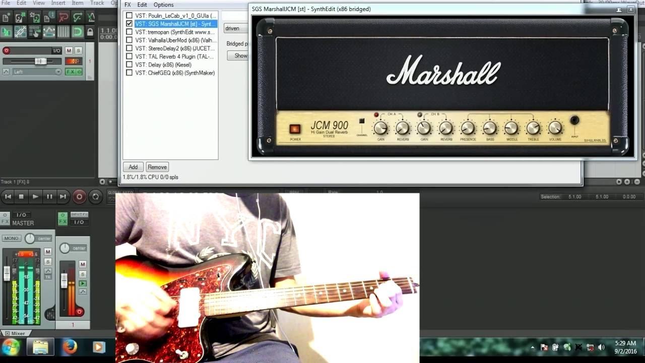 shoegaze guitar using vst only youtube. Black Bedroom Furniture Sets. Home Design Ideas