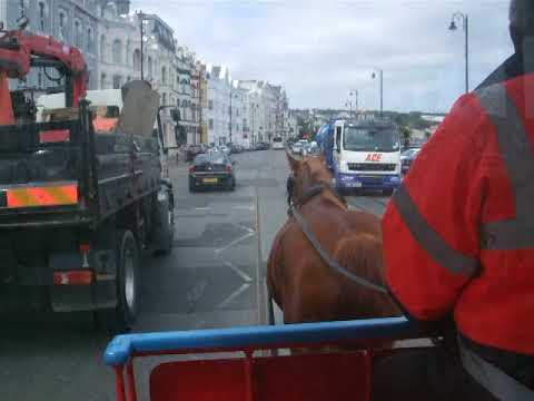 Horse Drawn Tram, Douglas, Isle of Man
