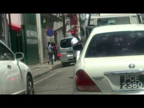 In discriminate wrecking by persons in Port of Spain Trinidad & Tobago