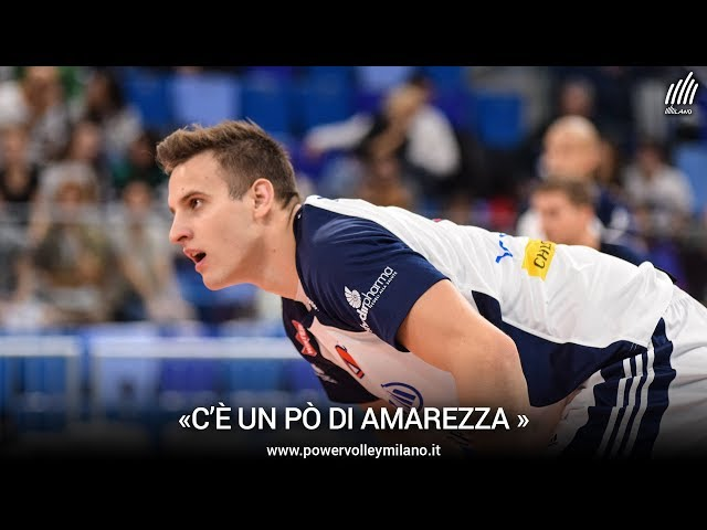 Superlega, l'intervista post Milano - Trento di Jan Kozamernik