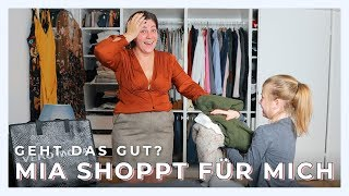 MEINE TOCHTER SHOPPT MEIN OUTFIT | Live Shopping und Try On Haul | Vlog #12