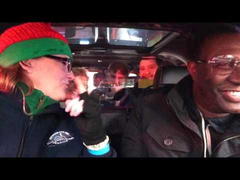 Cabbie Christmas Carpool Karaoke NYC Style!