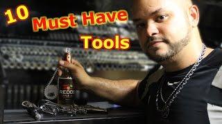 10 Must Have Motorcycle DIY Tools