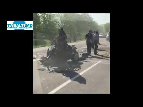 Страшная авария на трассе Оргеев- Кишинёв 03 05 18