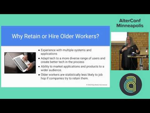 AlterConf Minneapolis 2016 - Aging and Accessibility in Tech