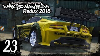 NFS Most Wanted REDUX 2018 | Walkthrough Part 23 - RONNIE [1440p60]
