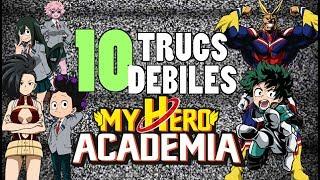 10 trucs debiles dans My Hero Academia