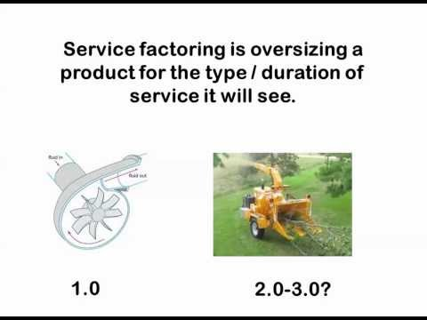 What is Service Factor?  What is Safety Factor?