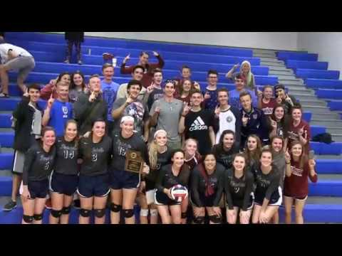 School of the Ozarks Volleyball - 2017 District Champions