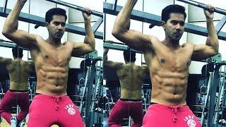 Video Varun Dhawan's Bodybuilding Gym Workout Video download MP3, 3GP, MP4, WEBM, AVI, FLV Juni 2018