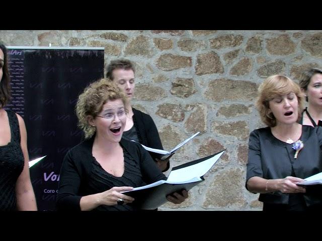 Ave Maria, J. Fajardo. VokalArs.  Directora: Nuria Fernández Herranz.