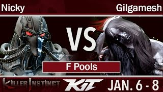 KIT17 Circa Nicky Fulgore Vs NoScope Gilgamesh Hisako F Pools Killer Instinct