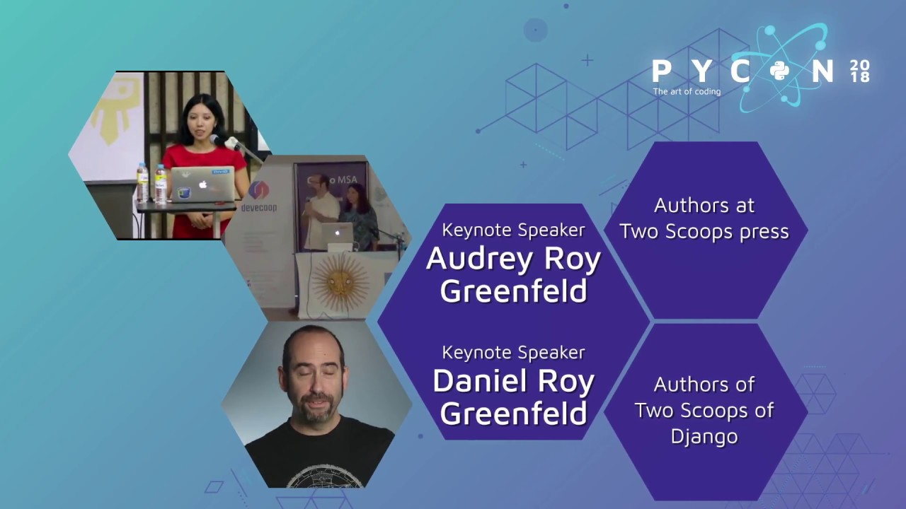 Image from Audrey and Daniel Roy Greenfeld - PyCon Colombia 2018