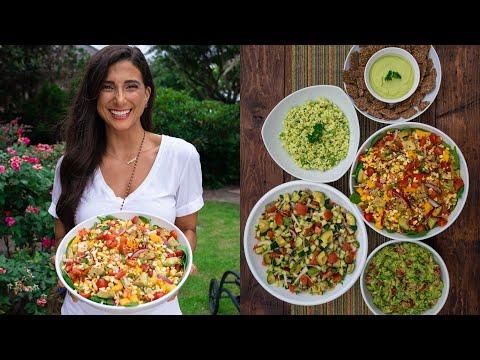7 Easy & Delicious Meal Prep Ideas with AVOCADO! FullyRaw & Vegan...🥑