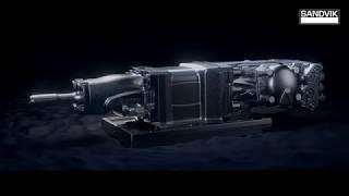 Sandvik RDX5 Rock Drill | Sandvik Mining and Rock Technology