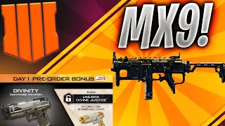 BLACK OPS 4:How to Get MX9 & Divinity DIVINE JUSTICE(SIGNATURE WEAPON)