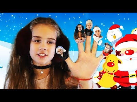 Finger Family Song - Christmas Version  Finger Nursery Rhymes and Kids Songs for Children and Babies
