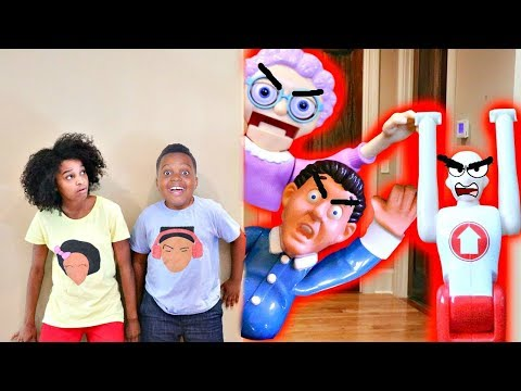 Thumbnail: TOY GAME COMPILATION! w/ Greedy Granny and Don't Wake Up Daddy - Shiloh and Shasha Onyx Kids