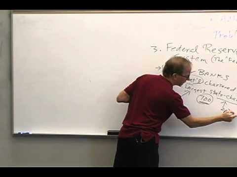 Money and Banking: Lecture 34 - Regulation of Banks 3